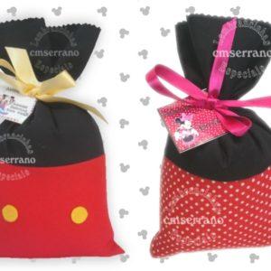 Saquinho Surpresa Mickey e Minnie